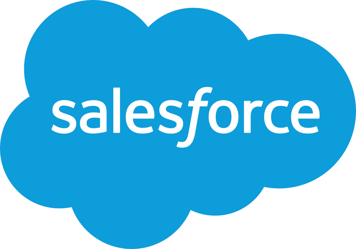 salesforce logo - pre-built integration with salesforce